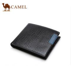 【清仓】Camel骆驼男士真皮钱包牛皮横款钱夹时尚休闲商务皮夹