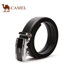 camle骆驼皮带 男士皮带牛皮皮带自动扣腰带 商务时尚休闲裤带男