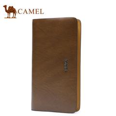 Camel/骆驼箱包 新款男士手拿包 大容量商务男式手包长款