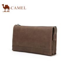 Camel/骆驼手拿包男士休闲手拿包时尚复古手抓包大容量男包包钱包