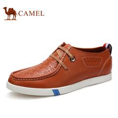 Camel骆驼男鞋 英伦潮流休闲鞋 春季潮鞋耐磨鞋子休闲皮鞋男鞋子
