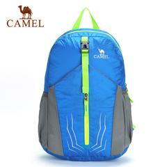 CAMEL骆驼户外双肩背包 男女款20L徒步登山双肩包便携折叠背包