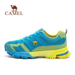 CAMEL骆驼户外男女款越野跑鞋  情侣网布耐磨越野跑鞋正品