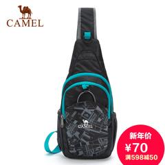 CAMEL骆驼户外休闲单肩斜跨包 旗舰店2015新款通用休闲户外胸包