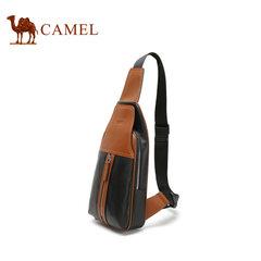 Camel/骆驼皮具 男士百搭胸包时尚潮流户外休闲斜背包骑行包男包