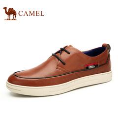 Camel/骆驼男鞋 休闲男板鞋 绑带男鞋潮鞋子皮鞋 板鞋休闲皮鞋男