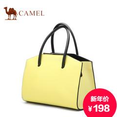 骆驼新款女士手提包欧美时尚女包休闲牛皮包单肩斜挎包潮流女包包
