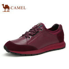 Camel/骆驼男鞋运动休闲系带男鞋夏季休闲男鞋子潮鞋子皮鞋