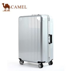 camel骆驼旅行箱 商务大容量登机箱耐磨拉杆箱万向轮箱经典款箱子