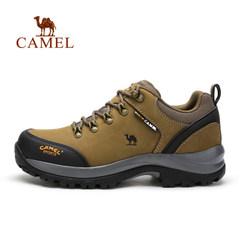 Camel/駱駝男鞋真皮鞋登山鞋男鞋防滑戶外鞋登山鞋徒步鞋山地鞋