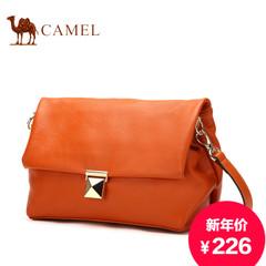 骆驼2015新款女士真皮单肩包韩版休闲牛皮斜挎包横款时尚女包包