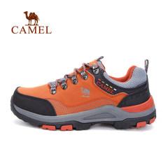 【断码清仓】骆驼户外徒步鞋女 系带女款减震防滑徒步鞋