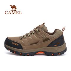 CAMEL骆驼男款徒步鞋 秋冬男士 防滑减震徒步鞋子正品4W2330009