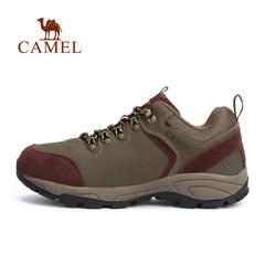 CAMEL骆驼户外男款徒步鞋低帮男鞋系带减震防滑鞋子