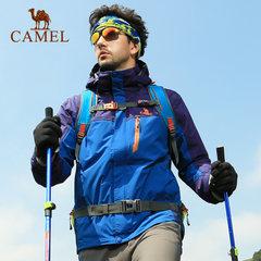 CAMEL骆驼户外冲锋衣男 冬季男款三合一冲锋衣保暖两件套男士