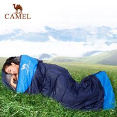 【热销6万】骆驼户外睡袋 露营加厚双人旅行保暖室内成人睡袋秋冬