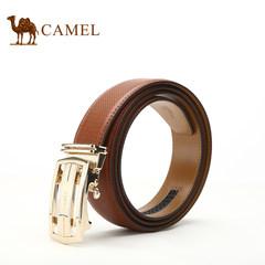 【清仓】Camel骆驼男士真皮自动扣牛皮腰带男时尚休闲青年裤带