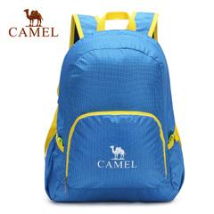 CAMEL骆驼户外折叠背包男女情侣款 25L徒步拉链式户外背包