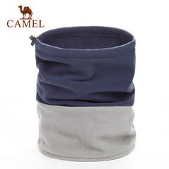 CAMEL骆驼户外中性围脖秋冬保暖防风纯色舒适围巾