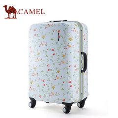 Camel骆驼商务拉杆箱万向轮男女通用登机箱24寸锁扣PC硬箱行李箱