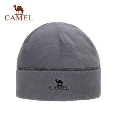 CAMEL骆驼户外抓绒帽潮包头帽休闲冬季护耳套头帽男女帽