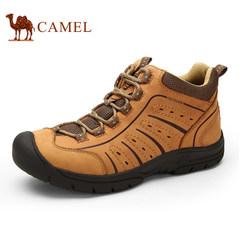 CAMEL骆驼男鞋新品户外休闲鞋男士保暖耐磨系带运动户外鞋潮