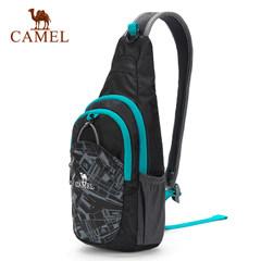 Camel駱駝男包新款男女胸包休閑運動單肩斜挎包多功能胸前小包包