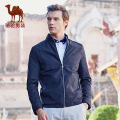 Camel/骆驼男装 时尚纯色长袖男士外套夹克青年薄款 潮流