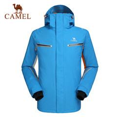 CAMEL骆驼户外滑雪服 情侣款冬季保暖户外滑雪服男女款