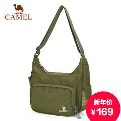 Camel/骆驼新款男士单肩包休闲斜挎包多功能潮流男包大容量斜背包