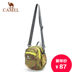 Camel/骆驼新款男士单肩包迷你运动包多功能休闲男包手提斜挎包