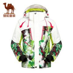 小骆驼童装冬装儿童户外滑雪服青少年男女童透气防寒保暖外套