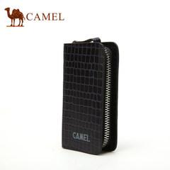 【清仓】Camel骆驼男女通用牛皮钥匙包石头纹锁匙包男女款钥匙扣