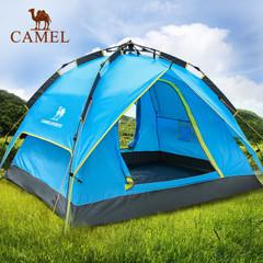 【爆款】骆驼户外全自动帐篷3-4人野外露营防雨双层 休闲帐篷套装