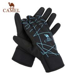 Camel骆驼户外手套 中性保暖手套 春防风防水保暖 男女通用手套