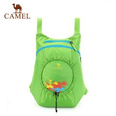 CAMEL骆驼户外儿童折叠背包 双容量牛津布皮肤包郊游外出背包
