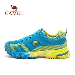 Camel骆驼运动鞋 户外男女款越野鞋跑步鞋情侣网布耐磨徙步鞋跑鞋