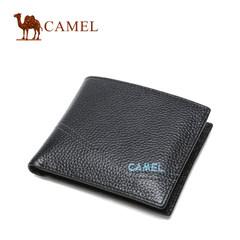 Camel/骆驼男士皮钱包休闲牛皮夹时尚头层牛皮钱夹
