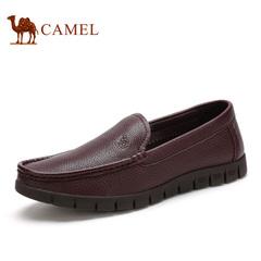 Camel/骆驼男鞋 商务休闲 春季休闲鞋男士皮鞋子