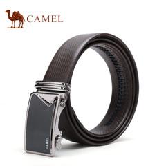【新品】camel骆驼皮带 2016秋季新款男士商务休闲牛皮自动扣腰带