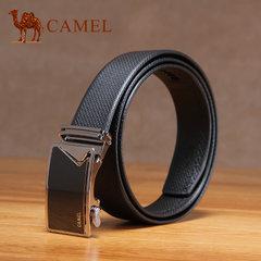 骆驼 新款时尚男士商务休闲皮带牛皮自动扣腰带