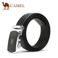 【新品】camel骆驼皮带 2016新款男士商务休闲皮带合金自动扣腰带