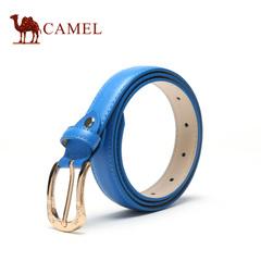 【新品】camel骆驼皮带 2016春新款女士皮带时尚休闲牛皮裤腰带