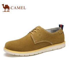 camel骆驼男鞋休闲鞋磨砂牛皮男鞋 春季伐木鞋休闲男