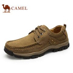 Camel/骆驼男鞋户外休闲鞋男士鞋子男鞋休闲男鞋牛皮男鞋