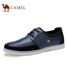 Camel/骆驼男鞋 春季 休闲板鞋日常鞋男潮流男鞋系带男鞋