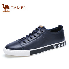 camel骆驼男鞋 潮鞋板鞋春季男士休闲鞋子系带鞋