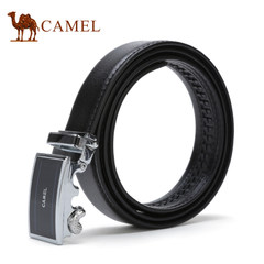 【清仓】Camel骆驼女士皮带自动扣牛皮腰带商务休闲青年时尚裤带