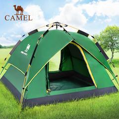 【第四代液压帐篷】骆驼帐篷户外3-4人 全自动速开防雨露营帐篷