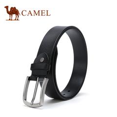 【新品】camel骆驼皮带 2016新款男士皮带牛皮商务休闲男款腰带